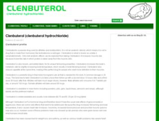 getclenbuterol.com screenshot