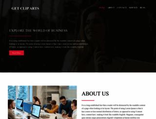 getcliparts.com screenshot