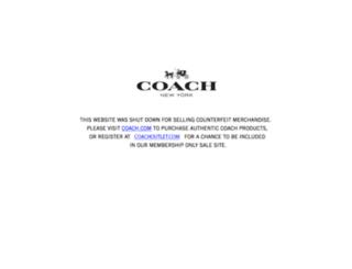 getcoachsoutletonline.net screenshot