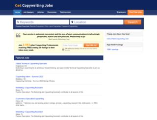 getcopywritingjobs.com screenshot