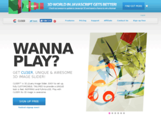 getcu3er.com screenshot