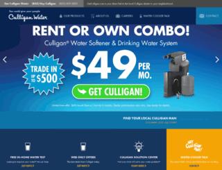 getculligan.com screenshot