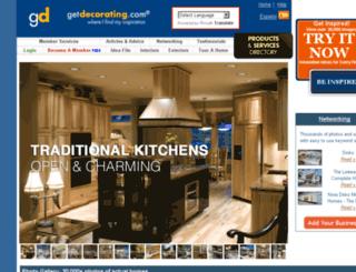 getdecorating.com screenshot