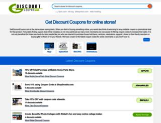 getdiscountcoupon.com screenshot