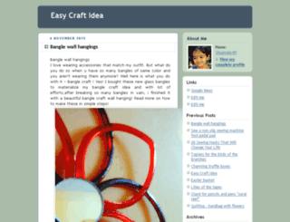 geteasycraftideas.blogspot.com screenshot