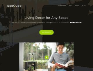 getecoqube.com screenshot