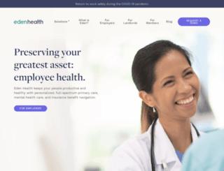 getedenhealth.com screenshot