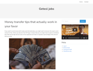 getesljobs.com screenshot