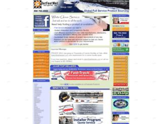 getfeetwet.com screenshot