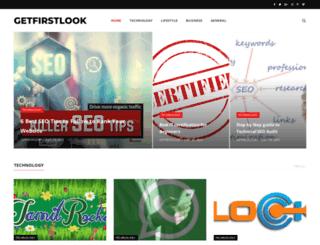 getfirstlook.com screenshot