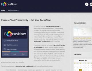 getfocusnow.net screenshot