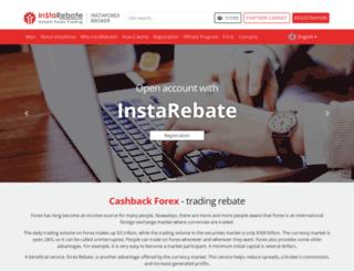 getforexrebate.com screenshot