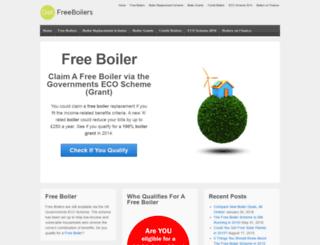 getfreeboilers.co.uk screenshot