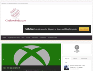 getfreesoftware.me screenshot