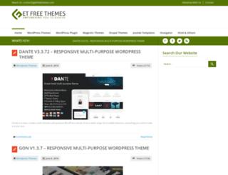 getfreethemes.com screenshot