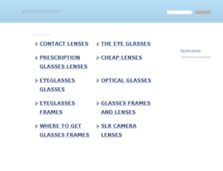 getfreshlenses.com screenshot