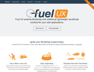 getfuelux.com screenshot