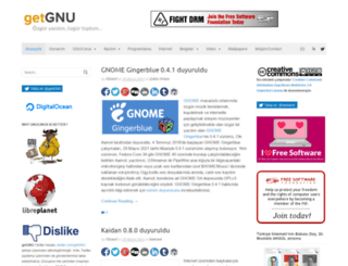 getgnu.org screenshot