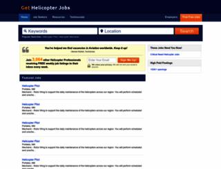 gethelicopterjobs.com screenshot