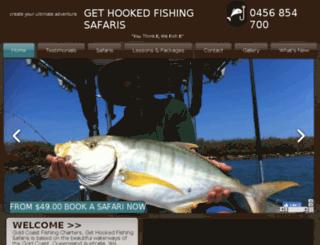 gethookedfishing.com.au screenshot