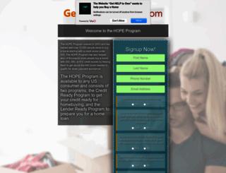 gethopetoown.com screenshot
