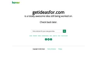 getideasfor.com screenshot