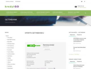 getinbank.kredytgo.pl screenshot
