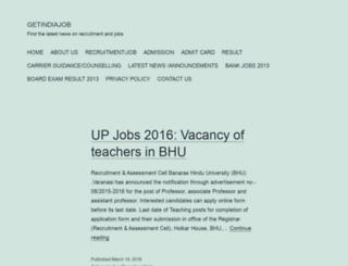 getindiajob.com screenshot