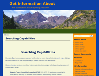 getinformationabout.com screenshot
