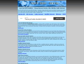 getisp.info screenshot