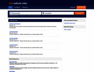 getjudicialjobs.com screenshot