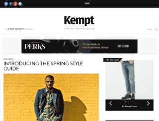 getkempt.com screenshot