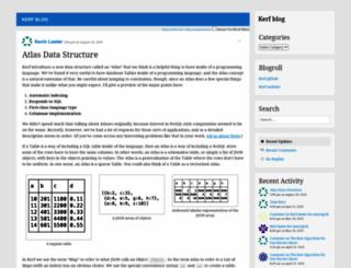 getkerf.wordpress.com screenshot