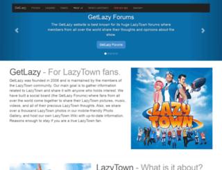 getlazy.net screenshot