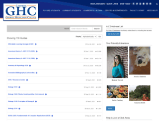 getlibraryhelp.highlands.edu screenshot