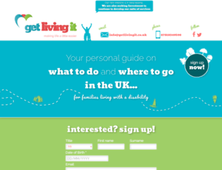 getlivingit.co.uk screenshot