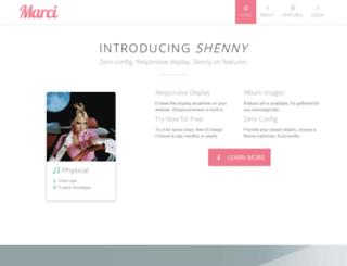 getmarci.com screenshot