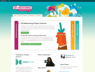 getmentoring.org screenshot