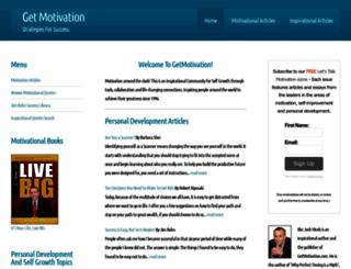 getmotivation.com screenshot