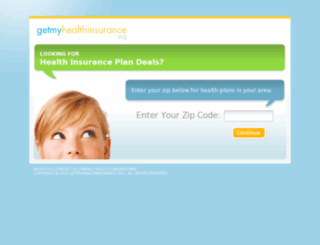 getmyhealthinsurance.org screenshot