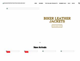 getmyleather.com screenshot