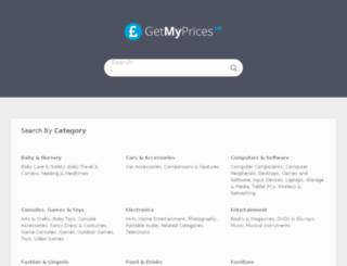 getmyprices.uk screenshot