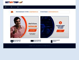 getmytrip.com screenshot