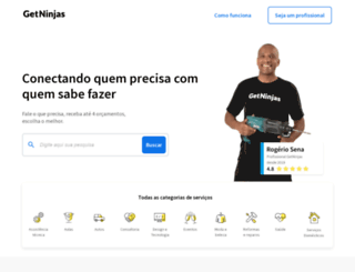 getninjas.com.br screenshot