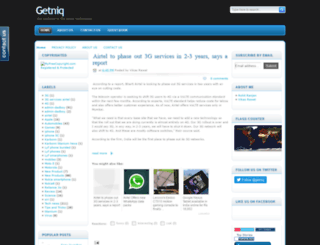 getniq.blogspot.in screenshot
