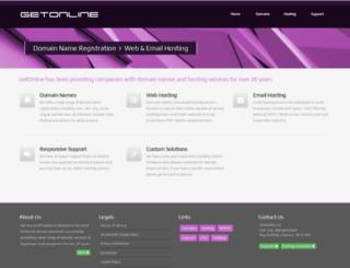 getonline.net screenshot