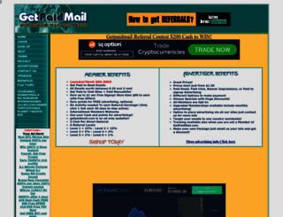 getpaidmail.com screenshot