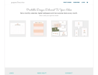 getpaperworks.com screenshot