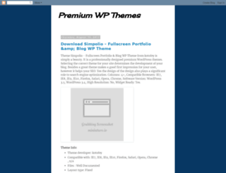 getpremiumwpthemes.blogspot.com screenshot