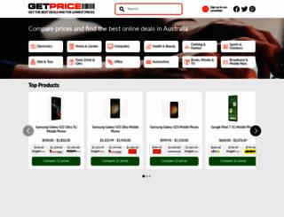 getprice.com.au screenshot